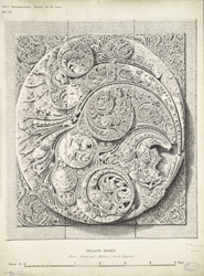 Ceiling panel from Anhilvad Pattan, North Gujarat.